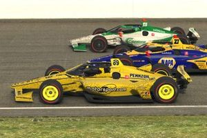Nick DeGroot, Alexander Rossi and Colton Herta
