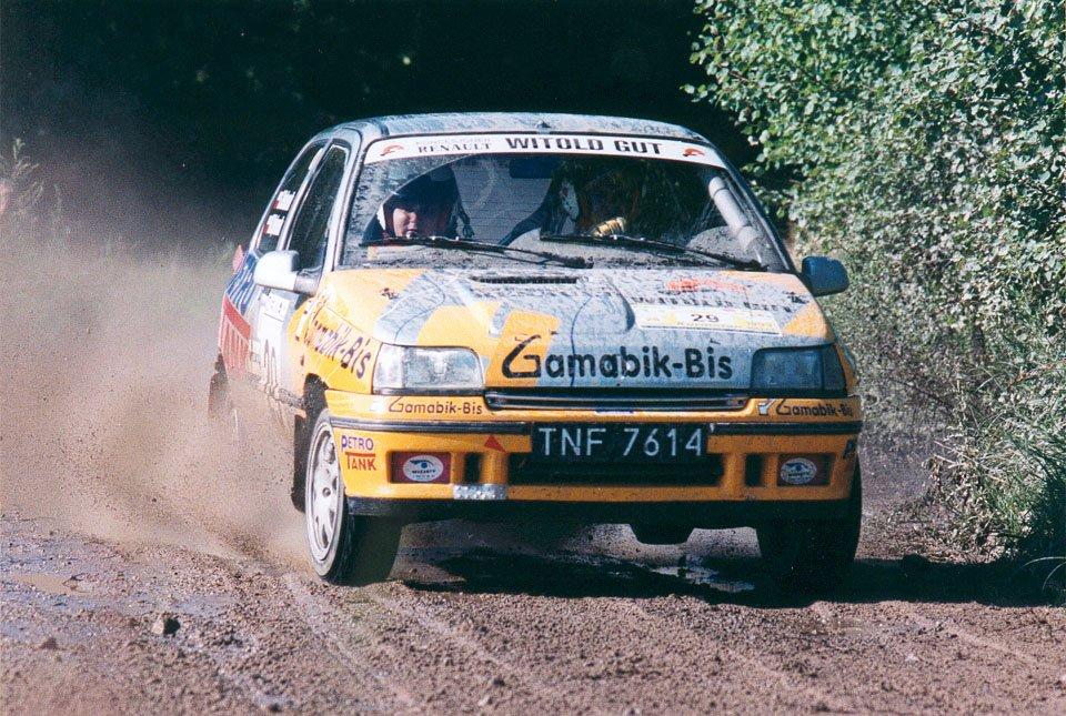 Michał Bębenek, Grzegorz Bębenek, Renault Clio Williams