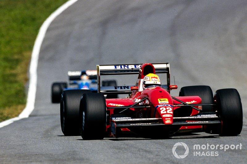 Pierluigi Martini, Dallara BMS-192 Ferrari
