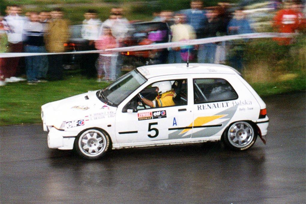 Waldemar Doskocz, Aleksander Dragon, Renault Clio 16V