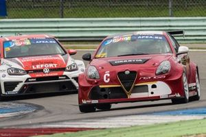 Loris Cencetti, Fabio Marchiafava, Alfa Romeo Giulietta TCR, Team Charleroi