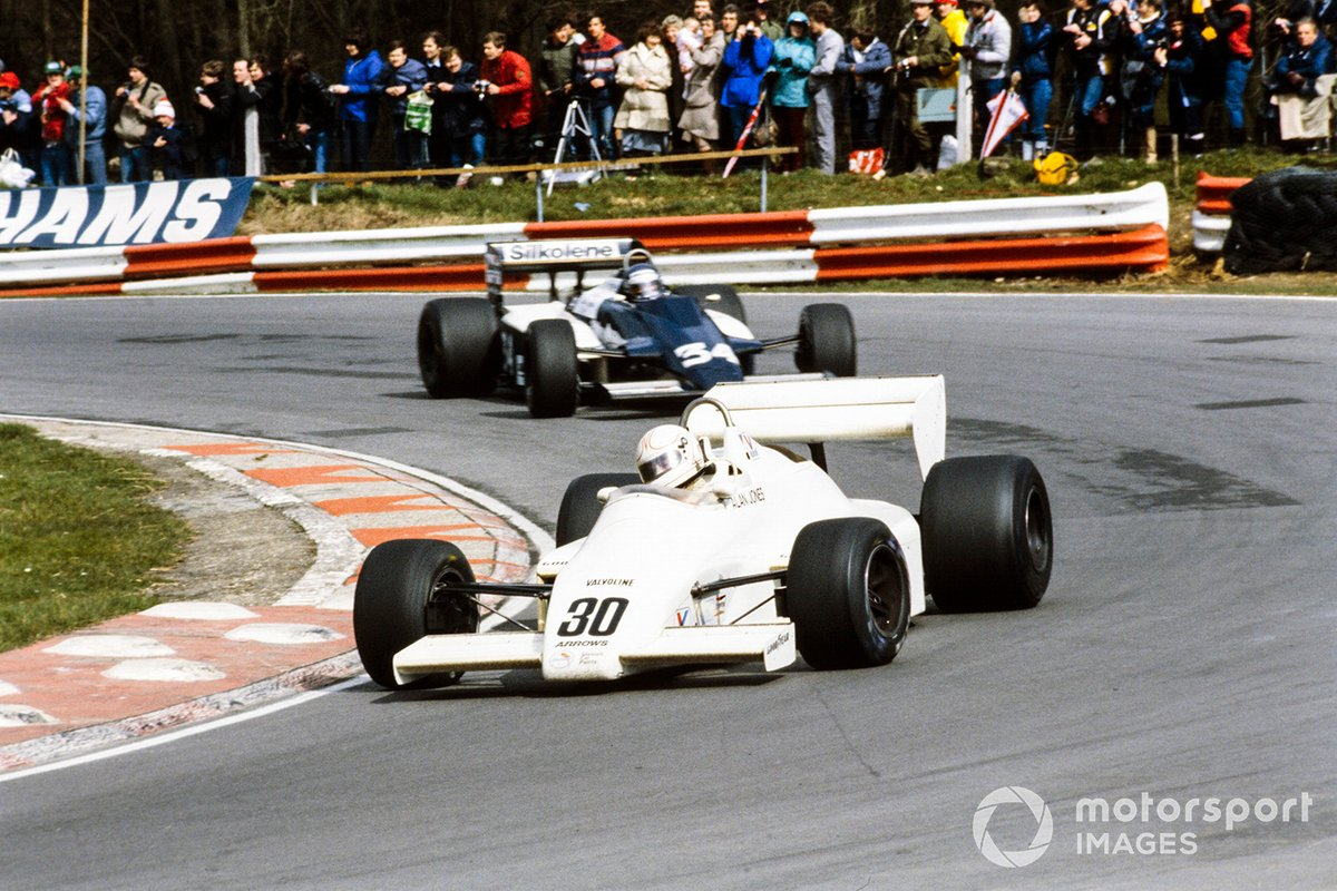 Alan Jones, Arrows A6 Ford, Brian Henton, Theodore N183 Ford