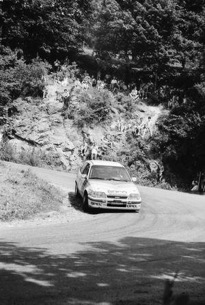 Pascal Schmite, Catherine Clause, Opel Kadett GSI 16V