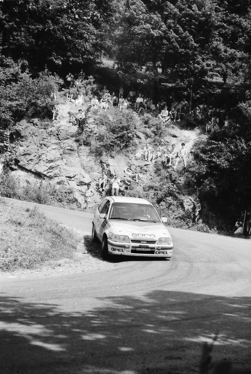 Pascal Schmite, Catherine Clause, Opel Kadett GSI 16V