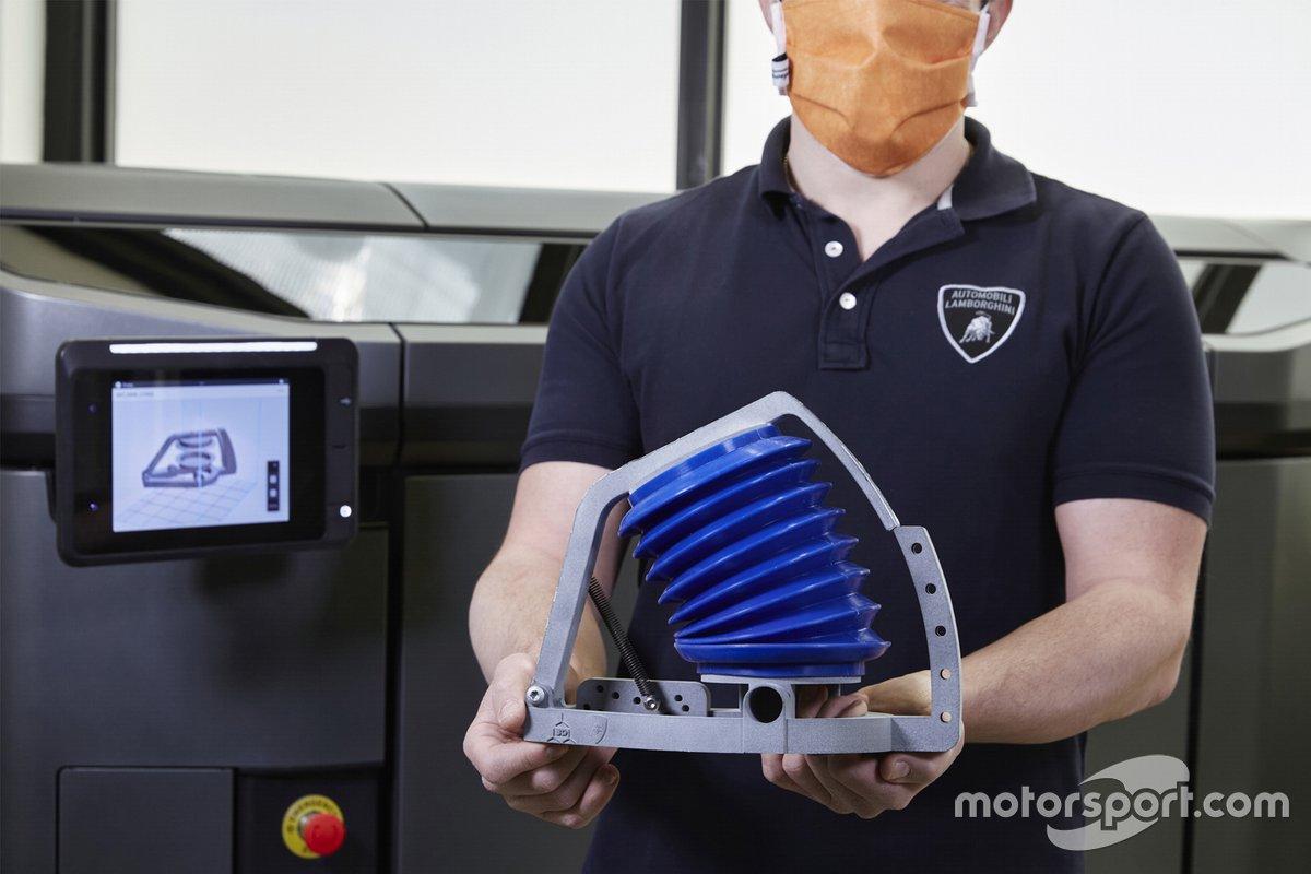 Automobili Lamborghini supporta Siare nella realizzazione di simulatori polmonari