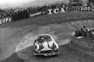 Stirling Moss, Peter Garnier, Mercedes-Benz 300SL