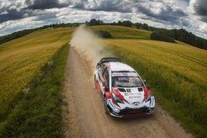 Ott Tanak, Martin Järveoja, Toyota Yaris WRC