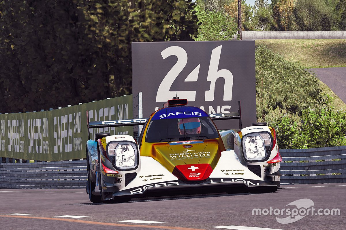#3 Rebellion Williams Esport Oreca 07 LMP2: Yifei Ye, Arthur Rougier, Isaac Price, Jack Keithley