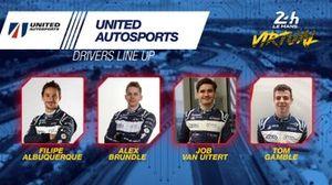 Line-up #22 United Autosports