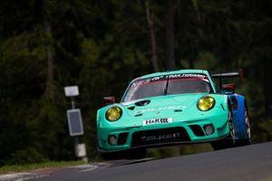 #4 Falken Motorsports Porsche 911 GT3 R: Peter Dumbreck, Martin Ragginger