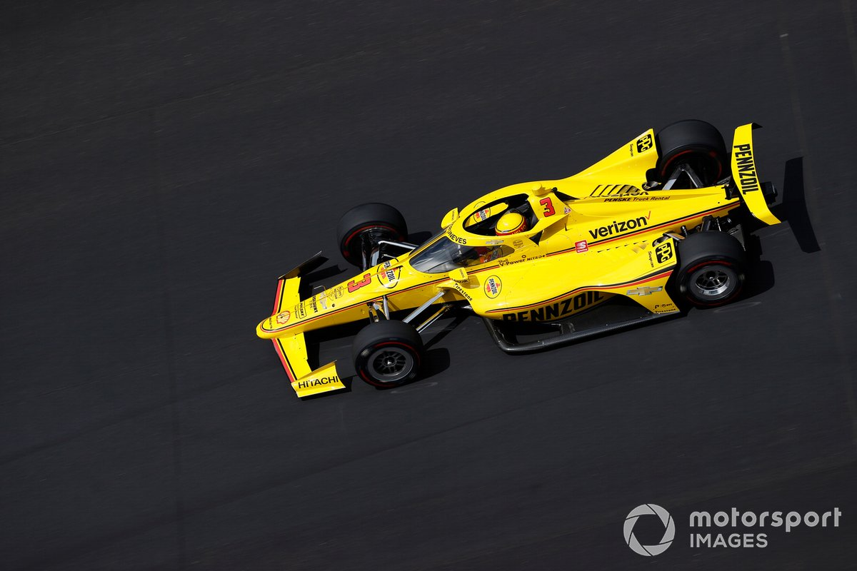#3 Helio Castroneves, Team Penske – Chevrolet