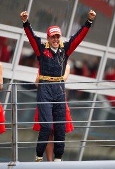 Race Winner Sebastian Vettel, Toro Rosso