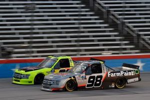 Grant Enfinger, ThorSport Racing, Ford F-150 and Matt Crafton, ThorSport Racing, Ford F-150 Chi-Chi's/Menards