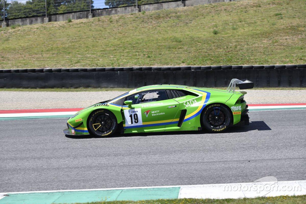 Aghakani Steven, Giammaria Raffaele, Pulcini Leonardo, Lamborghini Huracan GT3 EVO #19, Vincenzo Sospiri Racing