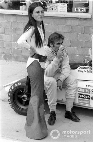 Carlos Reutemann y su esposa Mimicha