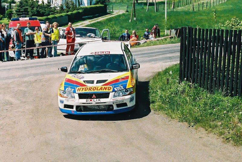 Michał Bębenek, Grzegorz Bębenek, Mitsubishi Lancer Evo VII