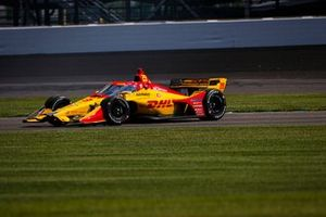 Ryan Hunter-Reay, Andretti Autosport Honda goes off track