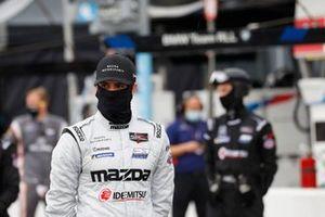 #77: Mazda Team Joest Mazda DPi, DPi: Tristan Nunez