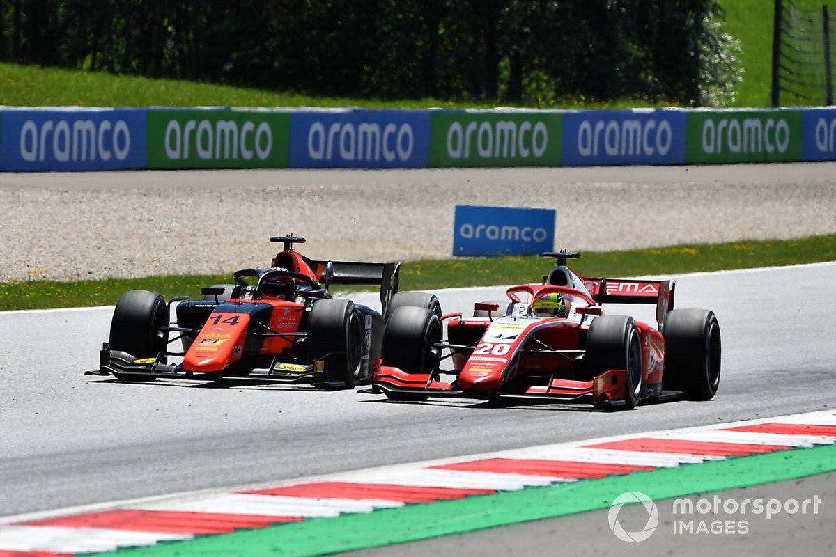 Mick Schumacher, Prema Racing, y Nobuharu Matsushita, MP Motorsport