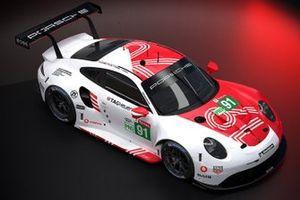 Porsche 911 RSR Le Mans 24 Virtual livery