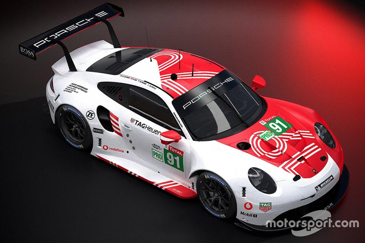 Porsche 911 RSR #91