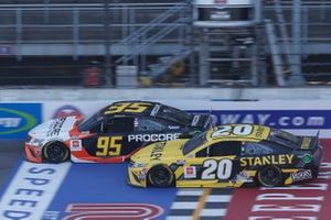 Erik Jones, Joe Gibbs Racing, Toyota Camry STANLEY Christopher Bell, Leavine Family Racing, Toyota Camry Procore