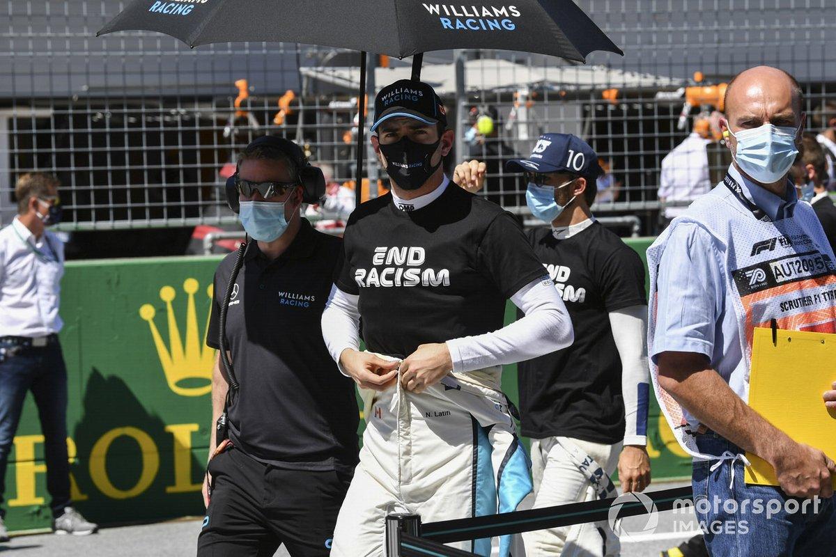 Nicholas Latifi, Williams Racing on the grid