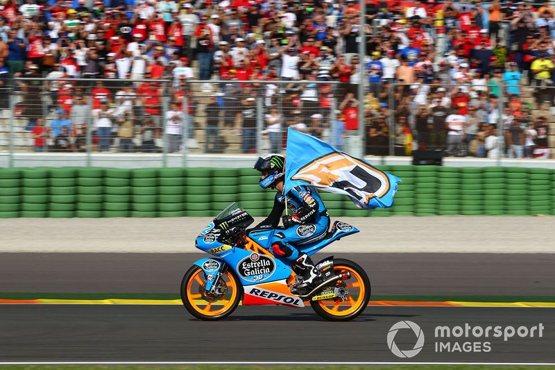 Alex Rins 6 victorias con KTM
