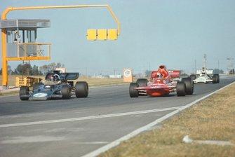 Emerson Fittipaldi, Lotus 72D Ford, Niki Lauda, March 721 Ford, GP d'Argentina del 1972
