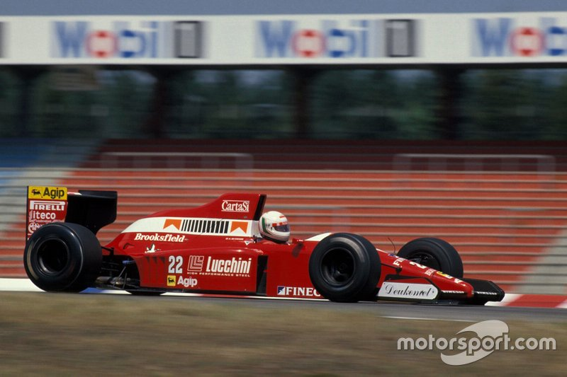 #22: Andrea de Cesaris (Scuderia Italia)