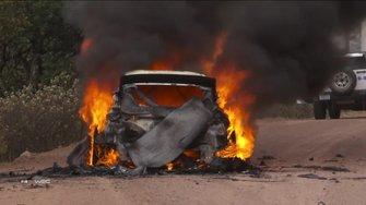 Пожар Ford Эсапекки Лаппи