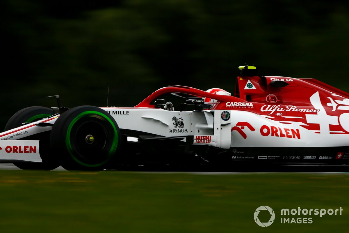 18-е место - Антонио Джовинацци (Alfa Romeo) - 1:05.175