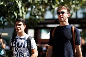 Sergio Sette Camara, Test & Reserve Driver, Red Bull Racing, and Pierre Gasly, AlphaTauri