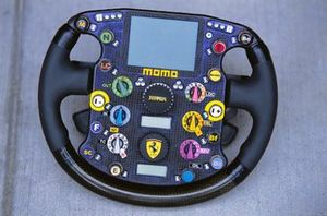 Ferrari F2003-GA steering wheel