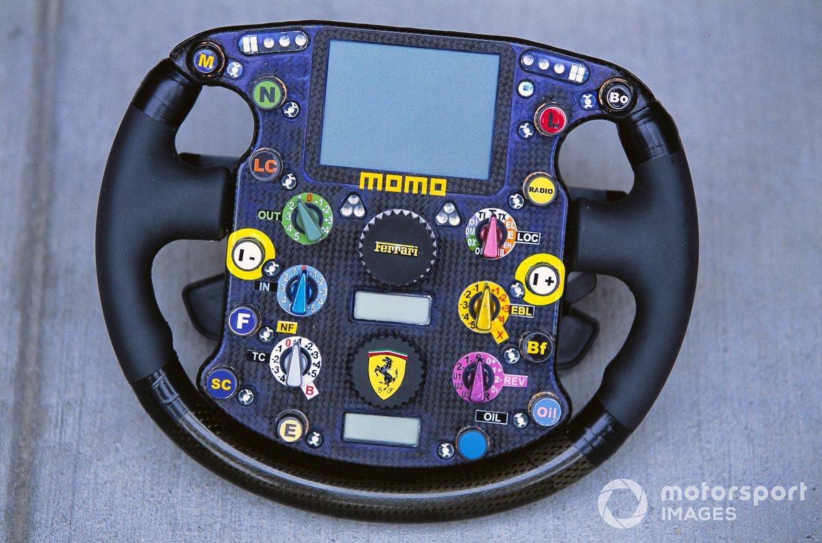 Руль Ferrari F2003-GA на Гран При США 2003 года