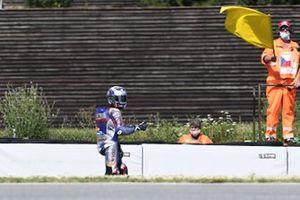 Sturz: Miguel Oliveira, Red Bull KTM Tech 3