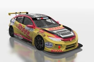 Tom Coronel, EatMyDust, Honda Civic Type R FK7 TCR