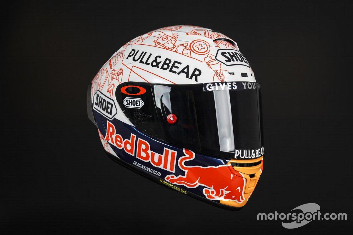 Casco de Marc Marquez, Repsol Honda Team