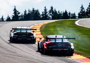 Лоик Дюваль, Audi Sport Team Phoenix, Audi RS 5 DTM, и Марко Виттман, BMW Team RMG, BMW M4 DTM