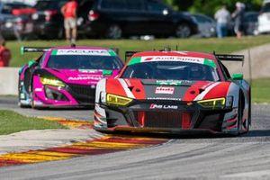 #30 Team Hardpoint Audi Sport Audi R8 LMS GT3:Rob Ferriol, Spencer Pumpelly