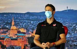 Romain Grosjean, Haas F1 in conferenza stampa