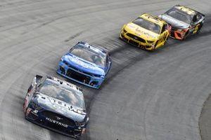 Corey LaJoie, Go FAS Racing, Ford Mustang Trump 2020, Ricky Stenhouse Jr., JTG Daugherty Racing, Chevrolet Camaro Kroger/Cottonelle