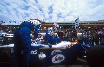Le poleman Nigel Mansell, Williams FW16B
