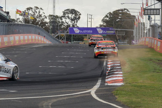 Fabian Coulthard, Tony D'Alberto, DJR Team Penske Ford, Scott McLaughlin, Alexandre Prémat, DJR Team Penske Ford