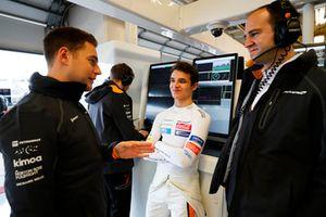 Stoffel Vandoorne, McLaren, and Lando Norris, McLaren