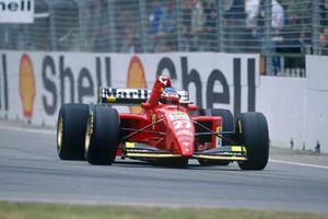 Жан Алези, Ferrari 412T2
