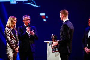Jason Plato with McLaren Autosport BRDC Award winner Tom Gamble