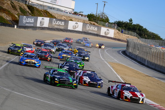 Start zu den 8h Kalifornien 2018 in Laguna Seca