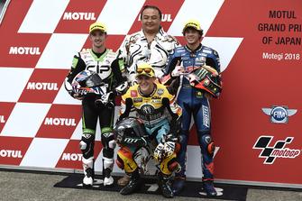 John McPhee, CIP Green Power, Gabriel Rodrigo, RBA Racing Team, Marco Bezzecchi, Prustel GP