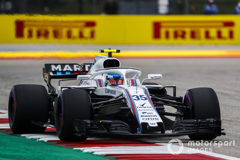 13e : Sergey Sirotkin (Williams)